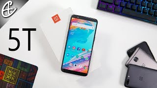 OnePlus 5T - Unboxing & Hands On!