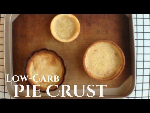 Keto Pie Crust | Low-Carb Pie Crust Recipe | Low-Carb Tart Shell