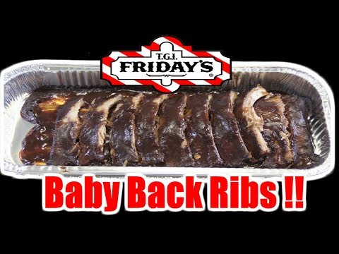 TGI Friday's Fully Cooked Baby Back Ribs - WHAT ARE WE EATING?? - The Wolfe Pit