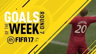 FIFA 17 - Goals of the Week - Round 7