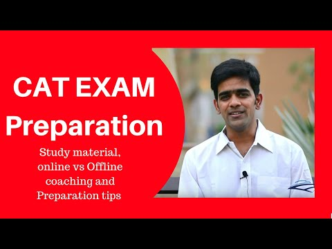 Cat exam preparation videos | Cat Score 99.02 | IIM-B