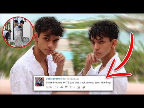LUCAS AND MARCUS ROASTED ME! [DOBRE BROTHERS]
