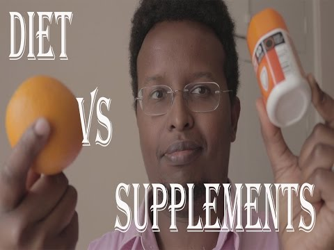 Vitamins from supplements or from diet? a pharmacist review.