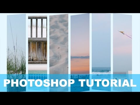 Photoshop Tutorial: How to create a Split Panel Photo Collage