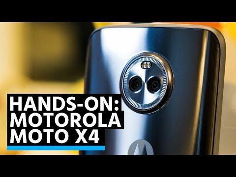 Hands-on: Motorola Moto X4