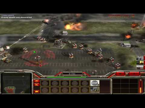 Zero Hour Reborn: Artillery General vs Helicopter General