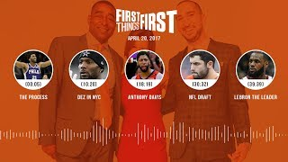 First Things First audio podcast(4.20.18) Cris Carter, Nick Wright, Jenna Wolfe | FIRST THINGS FIRST