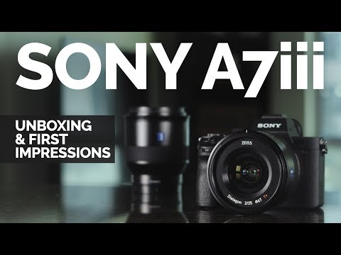 A7iii Unboxing and First Impressions