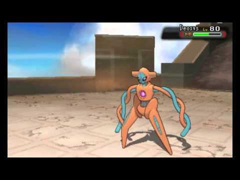 Pokemon : Alpha Sapphire - VS. Deoxys (2nd attempt)