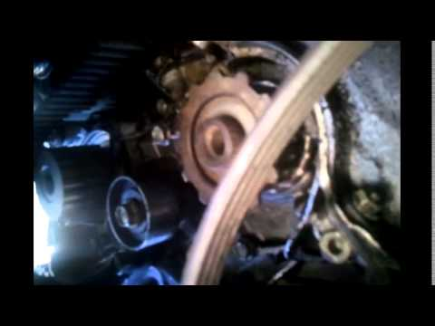 How to change 1997 Honda Civic Timing Belt  Part 1