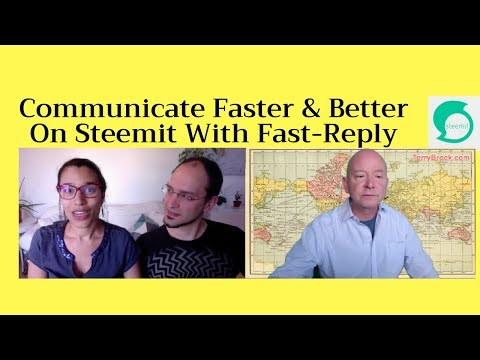 Respond Fast on Steemit with the New Fast-Reply Tool