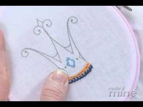 Make It Mine Magazine - Embroidery Split Stitch