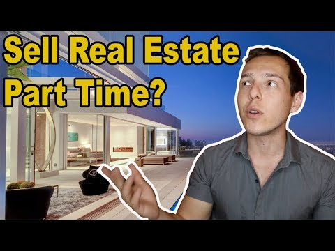 Why you shouldn't sell Real Estate part time