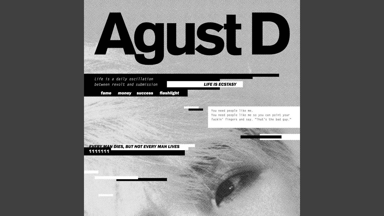 Agust D - Interlude_dream, Reality