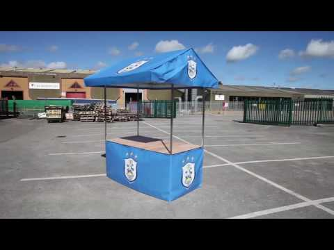 Branded Market Stall Promotional Stand for Huddersfield Town Football Club