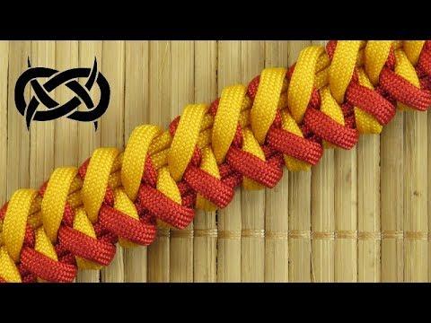 How to weave the Split Jaw Bone Paracord Bracelet