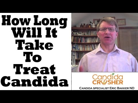 How Long Will It Take To Cure My Candida Yeast Infection?