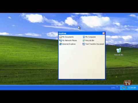 Sizing and Positioning Your Toolbar in Windows XP
