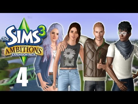 Let's Play: The Sims 3 Ambitions | Part 4 | Poltergeists and Promotions