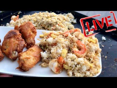 Benihana's Shrimp Fried Rice Recipe On The Blackstone Griddle