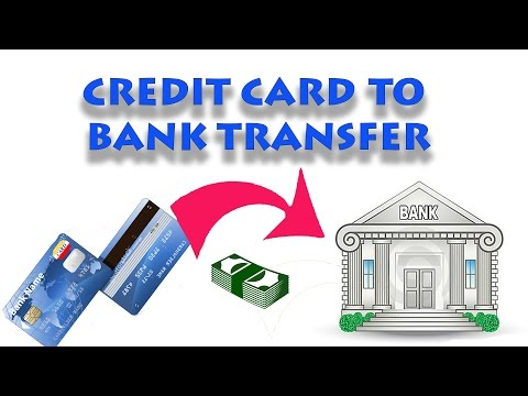 How to Transfer money from Credit Card to Bank Account at Free