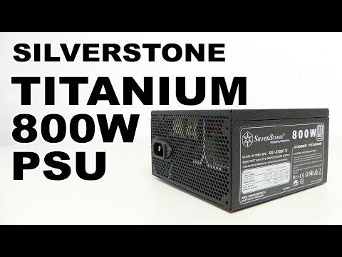 SilverStone ST80F-TI Strider Titanium 800W Power Supply Review