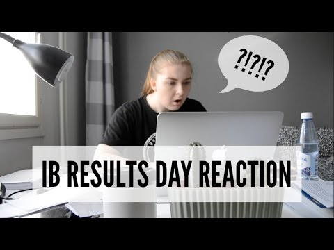 IB RESULTS DAY / REACTION VIDEO / UNIVERSITY?