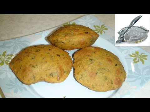 Methi ni Puri or Poori recipe video- Fried Fenugreek Leaves Bread - Potluck Recipe Indian