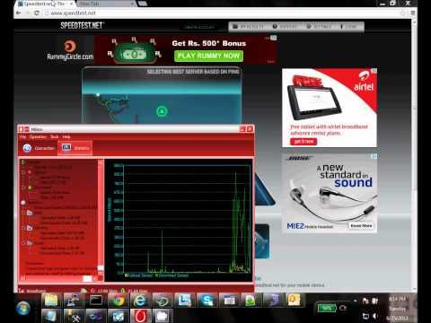 MTS datacard speed test - fix speed issue