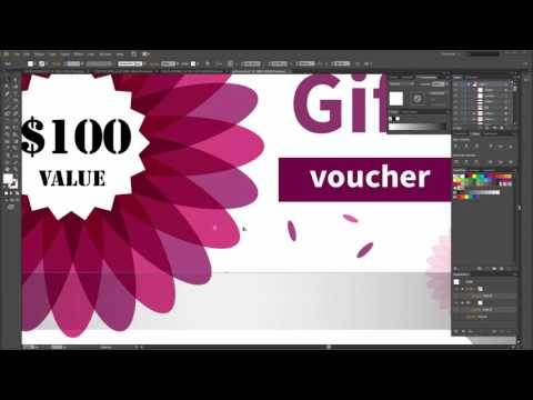 How to create a Gift Voucher Vector in Adobe Illustrator