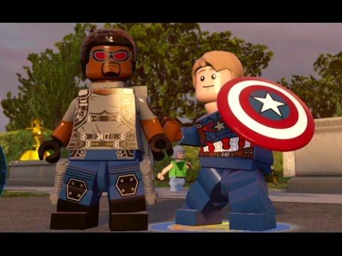 LEGO Marvel's Avengers - Washington D.C. Hub Free Roam Gameplay