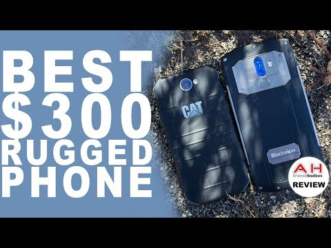 Best $300 Rugged Phone - CAT S31 vs Blackview BV9000 Pro