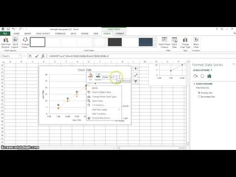 How to graph multiple Lines