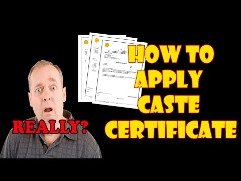 How to Apply Caste Certificate Maharashtra