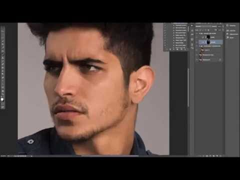 Episode 6. Photoshop & Lightroom - Men's Portrait Retouching Workflow