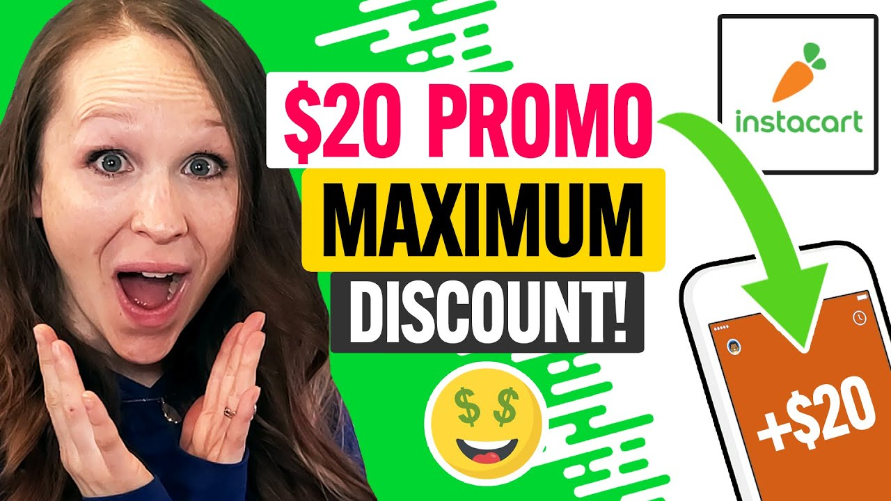 🥕 Instacart Promo Code 2021: MAX Coupon Discount for New Users and Existing Customers (100% Works)