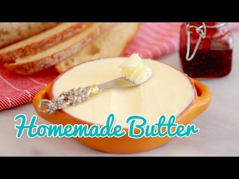 How to Make Homemade Butter - Gemma's Bold Baking Basics Ep 19