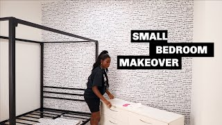 My Sister Moved In With Me & I Decorated Her Room   Room Makeover   Shalom Blac