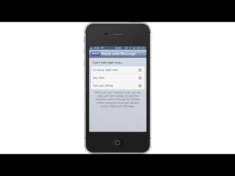 Ways to Set TextAuto ReplyiniPhone