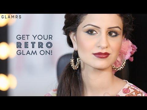 Retro Bollywood Glam | Glamrs Makeup with Pallavi Symons