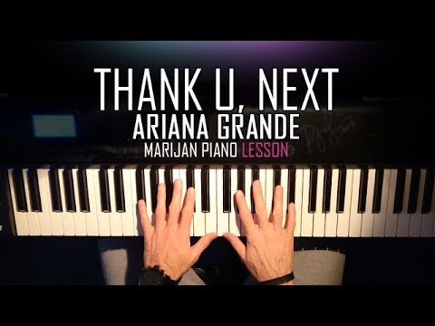 How To Play: Ariana Grande - Thank U, Next | Piano Tutorial Lesson + Sheets
