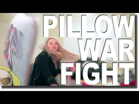 Pillow Fight War Begins!!
