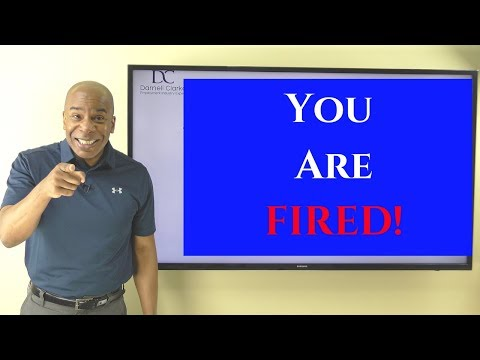 What Are The Signs Of Getting FIRED!