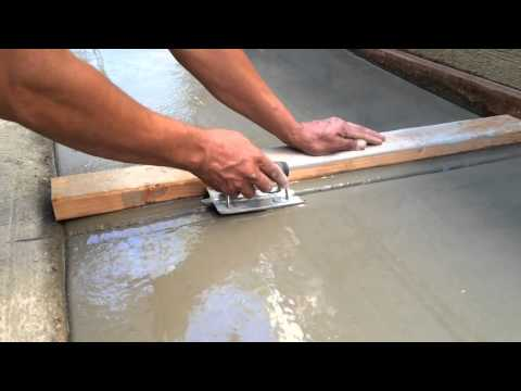 All Home Services how to pour concrete sidewalk