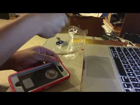 Unboxing of the Otterbox Defender for the iPhone 6/6S (Scarlet Red)