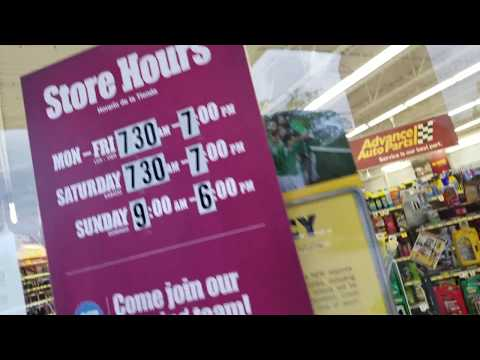 Advance Auto Wrong store hours...THEY ARE ALWAYS CLOSED?