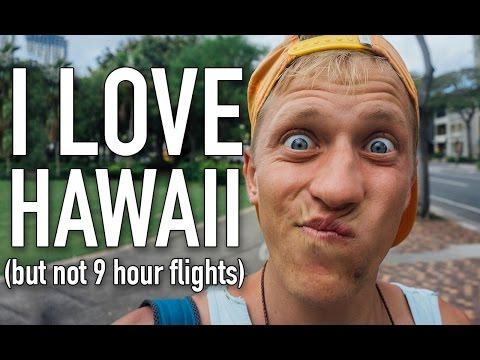 VLOG #19: BYE AUSTRALIA, ALOHA HAWAII! (transit day)
