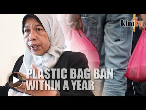 Zuraida: Nationwide plastic bag ban within a year
