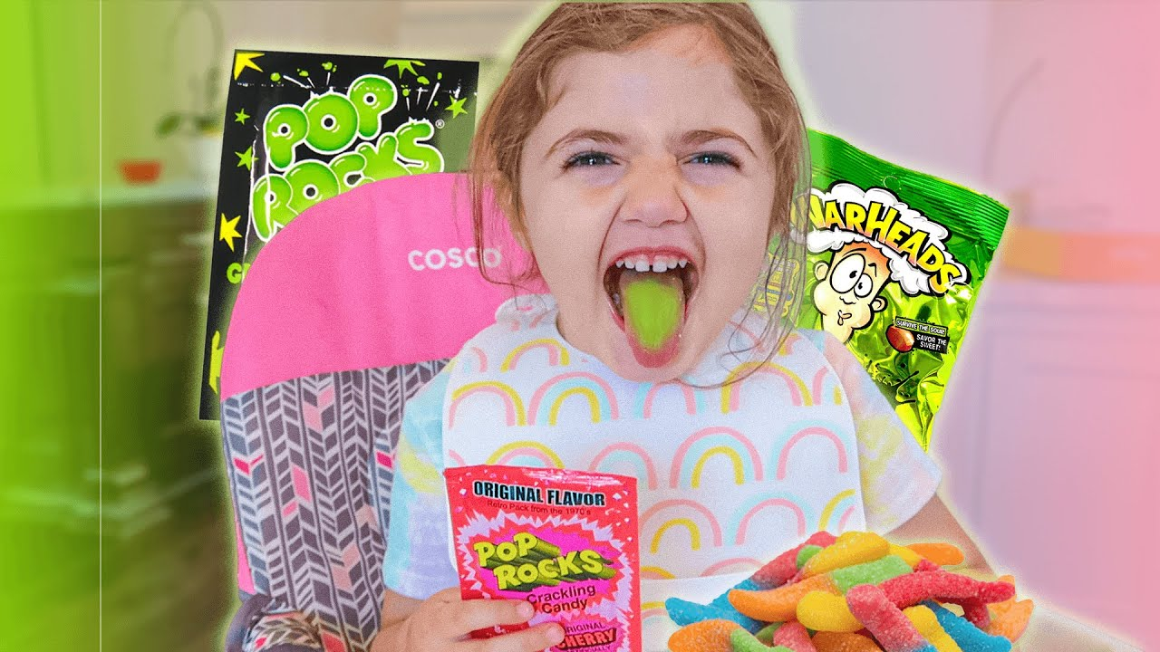 BABY VS EXTREME CANDY (POP ROCKS & more challenges)