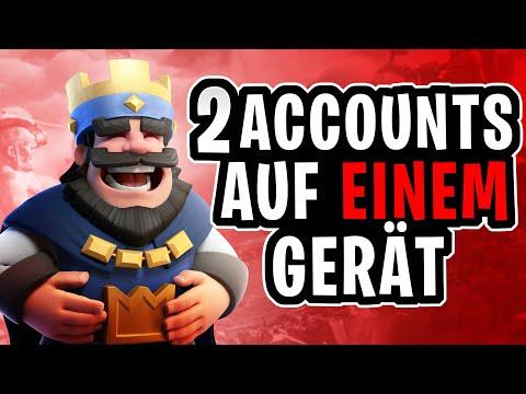 2 CLASH ROYALE ACCOUNTS AUF EINEM GERÄT! (NEU) | Clash Royale Tutorial | PokyZockt
